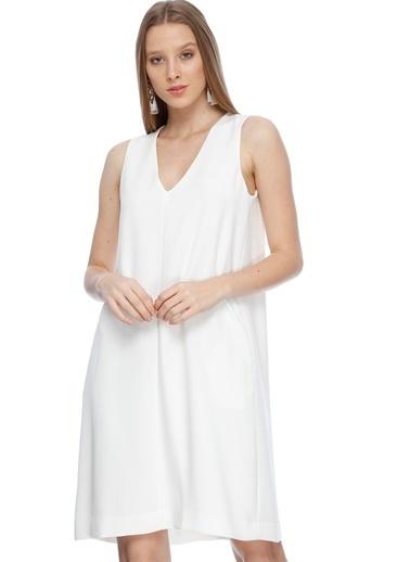 Beymen Studio Elbise Beyaz